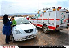خدمات و امداد رسانی هلال احمر در ایام نوروز به مسافرین