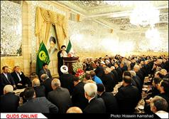 دیدار حجت الاسلام والمسلمین رئیسی تولیت آستان قدس رضوی با مدیران