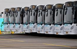 ورود۴۱۴ دستگاه اتوبوس به حمل و نقل