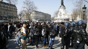 تظاهرات مردم فرانسه