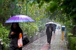 کاهش بارندگی در تهران