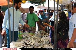 بازار ماهی فروشان بندر عباس