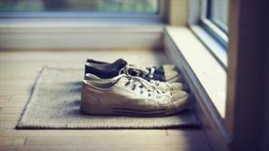 آلودگی کفش ها