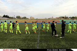 تمرین تیم ملی فوتبال نونهالان کشور در مشهد