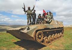 پیشروی ارتش سوریه در حومه حمص