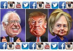 کاندیداهای ریاستجمهوری در شبکههای اجتماعی