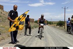 دومین مرحله مسابقات دوچرخه کوهستان رنکینگ استان