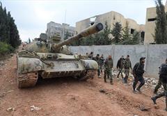 آزادسازی مناطق استراتژیک حمص
