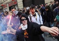 تظاهرات در رم