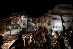 بمباران شهر ادلب