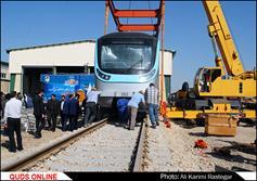 ورود واگن های خط ۲ قطار شهری مشهد