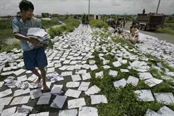 کاغذ و منابع طبیعی