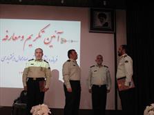 سردار اشتری در مراسم تودیع و معارفه فرمانده انتظامی استان