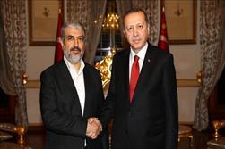 اردوغان خالد مشعل