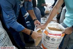 آماده سازی و بسته بندی بسته های حمایتی و معیشتی جهت محرومان توسط اعضای جمعیت امام علی(ع)- گزارش تصویری