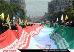 راهپیمایی روزجهانی قدس در مشهد