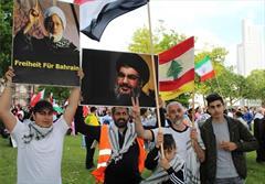 تظاهرات ضدصهیونیستی در محل موزه هولوکاست آلمان + تصاویر