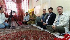 مهرانرجبی مهمان شهید مدافعحرم