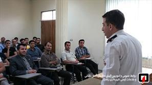 آتش نشان -کلاس آموزشی