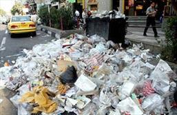 زباله در شهر