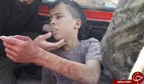 سر بریدن یک کودک فلسطینی