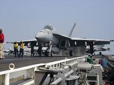 حضور مجدد ناو هواپیمابر آمریکایی در خلیج فارس