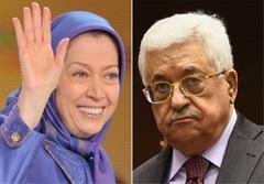 دیدار محمود عباس و سرکرده منافقین، درخواست که بود ؟
