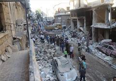 عربستان، ترکیه و قطر صحنه گردان حلب