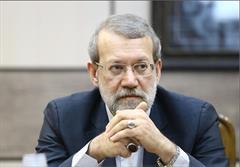 تکذیب محکم لاریجانی : کل خبر دروغ است