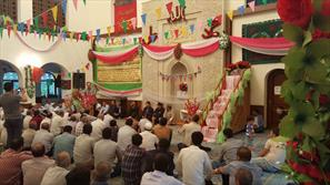 اجرای مراسم زیارت بعید امام رضا(ع) در آذربایجان