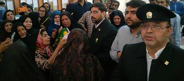 حضورخادمان در بیمارستان افضلی پور کرمان