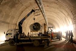 پروژه تونل فاضلاب رو غرب تهران