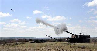 حمله توپخانه ای ترکیه