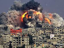 غزه بمباران اسراییل فلسطین
