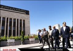 افتتاح دانشکده دارو سازی توسط وزیر بهداشت