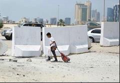 دیوار نژادپرستانه آل خلیفه
