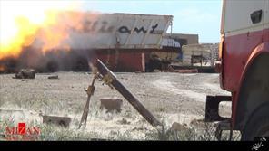 حمله راکتی به سلحب سوریه