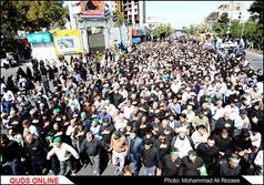 اجتماع عزادارن حضرت جواد الائمه (ع) در مشهد