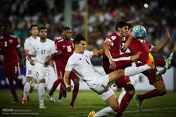 تیم ملی ایران و قطر