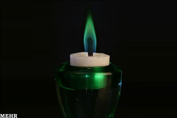 عکس شمع اربعین