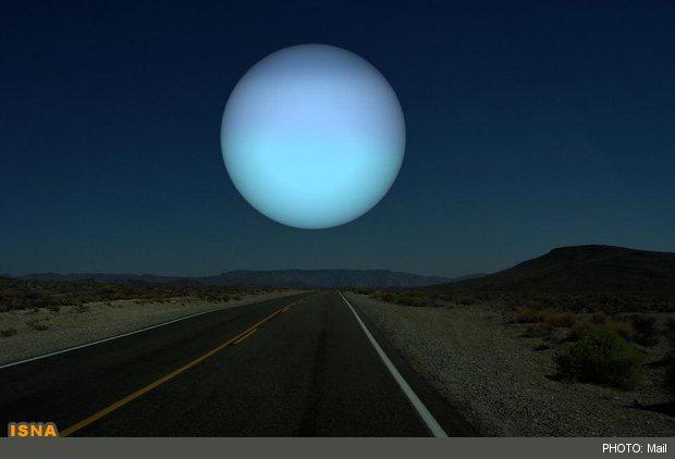 اگر نپتون جايگزين ماه شود
