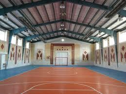 سالن ورزشي در آبدانان - عکس تزيني است