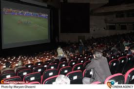 اکران فوتبال در سينما