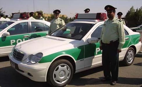 خودروهاي پليس ايران از ابتدا تاکنون