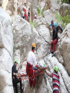 عمليات نفس گير نجات کوهنورد مصدوم
