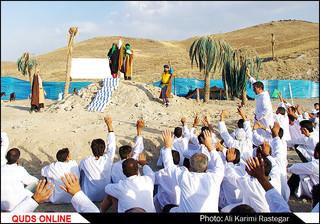 بازسازی واقعه عظیم غدیر خم در مشهد