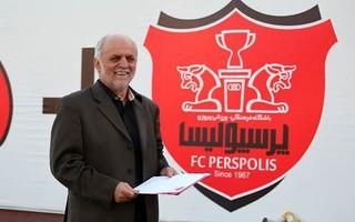 محمود خوردبین سرپرست پرسپولیس