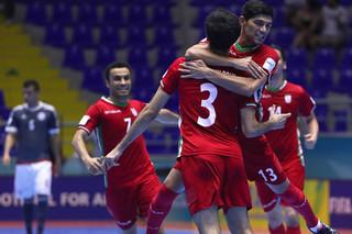 دیدار تیم ملی فوتسال ایران و پاراگوئه