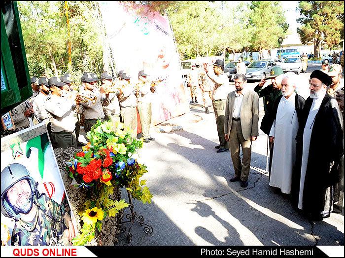 برپایی مراسم بزرگداشت سالروزعملیات ثامن الائمه وشکست حصرآبادان/گزارش تصویری