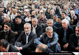 اهدای پرچم متبرک حرم امام رضا(ع) به هیئات مذهبی سراسر کشور/گزارش تصویری